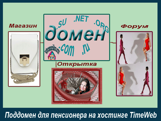 Поддомен на хостинге TimeWeb