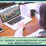 Из чего состоит сайт на WordPress